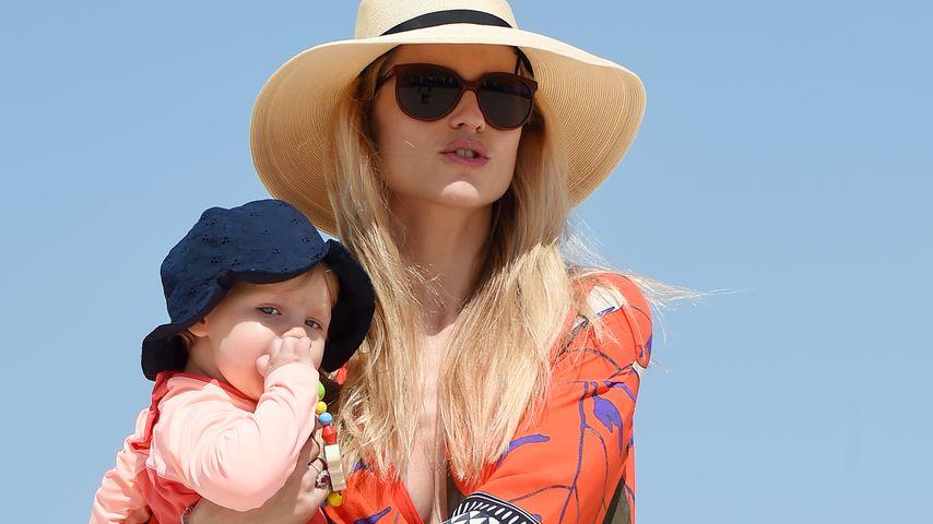 Michelle Hunziker & Baby Celeste: Sonnige Grüße aus Dubai