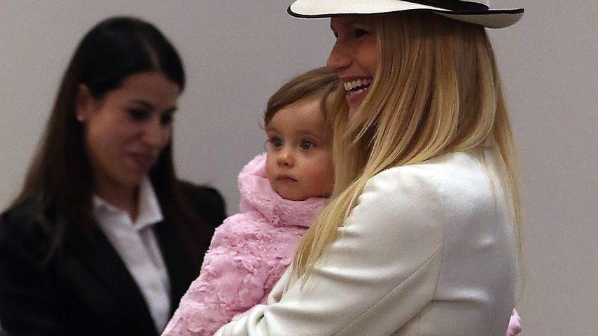 Schön! Michelle Hunziker genießt ihr Baby-Glück