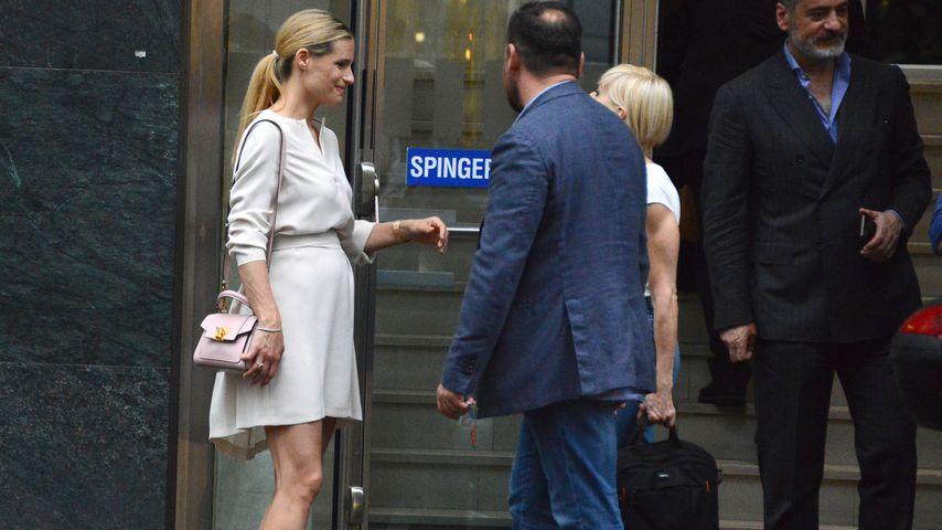 Michelle Hunziker in Mailand im Mai 2018