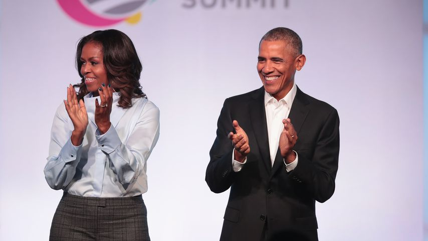 Michelle und Barack Obama in Chicago