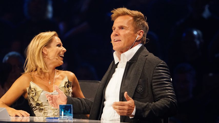Sängerin Michelle und Dieter Bohlen bei DSDS 2017