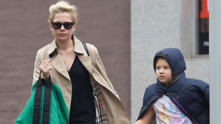 Michelle Williams mit Tochter Matilda in Brooklyn