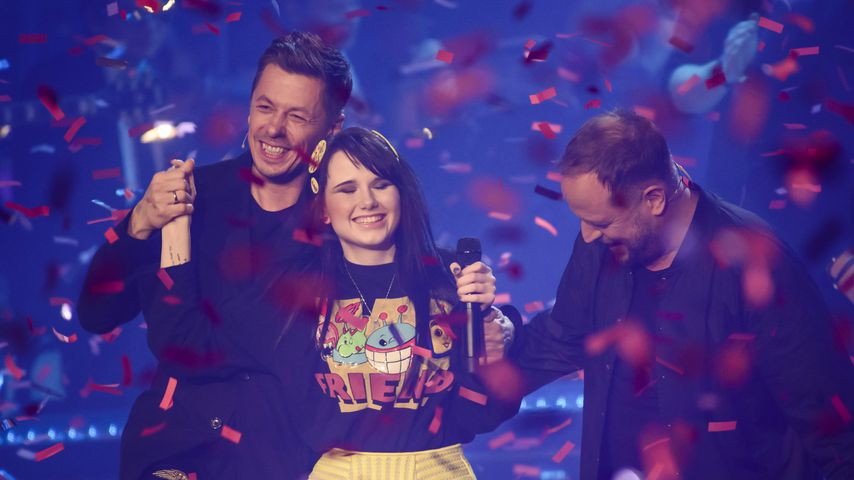 "Michi Beck, Jamie-Lee Kriewitz und Smudo beim ""The Voice of Germany""-Finale 2015"