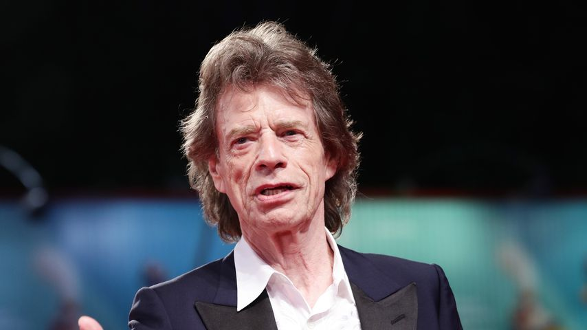 Mick Jagger auf dem Filmfestival in Venedig