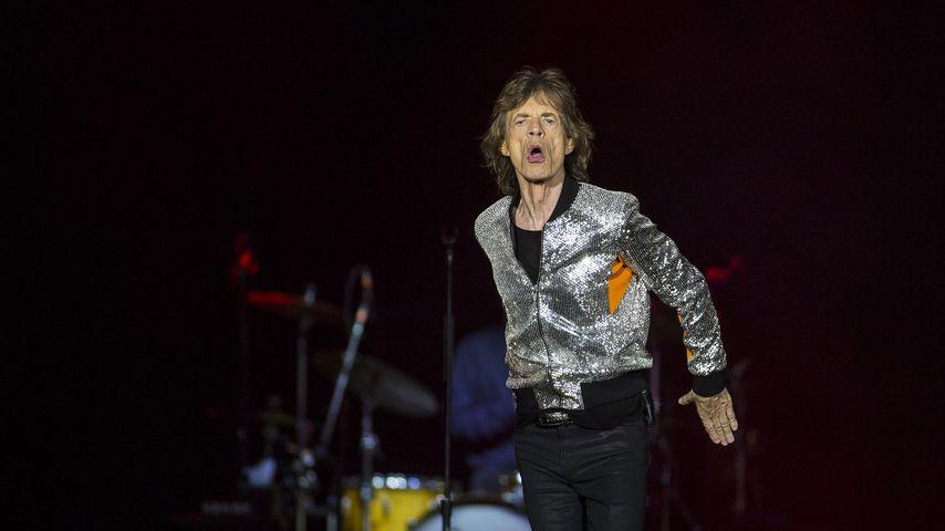 Mick Jagger bei einem Auftritt in Hamburg