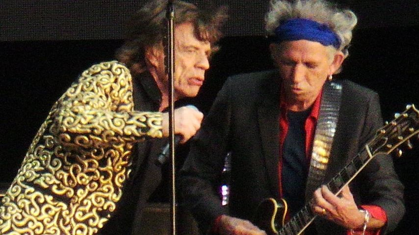 Ohje! Keith Richards verpennt Mick Jaggers Party