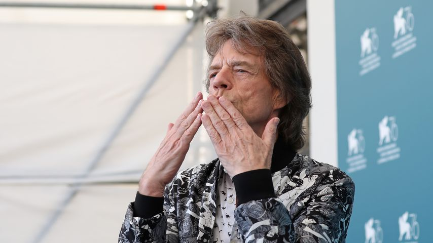 Mick Jagger beim Film Festival von Venedig im September im September 2019