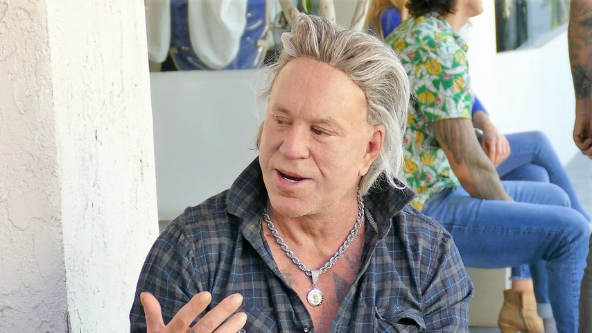Mickey Rourke: Hollywood-Star schockt mit Horrorfilm-Gesicht