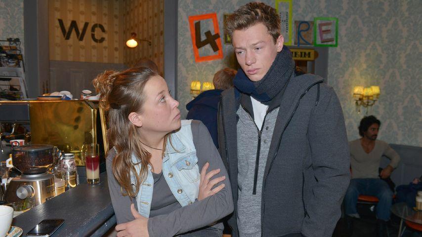 Vincent Krüger und Franziska van der Heide