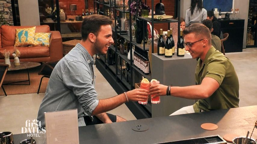 """Miguel und Lukas bei """"First Dates Hotel"""""""