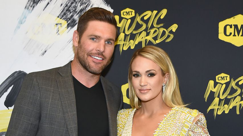 Mike Fisher und Carrie Underwood bei den CMT Music Awards 2018