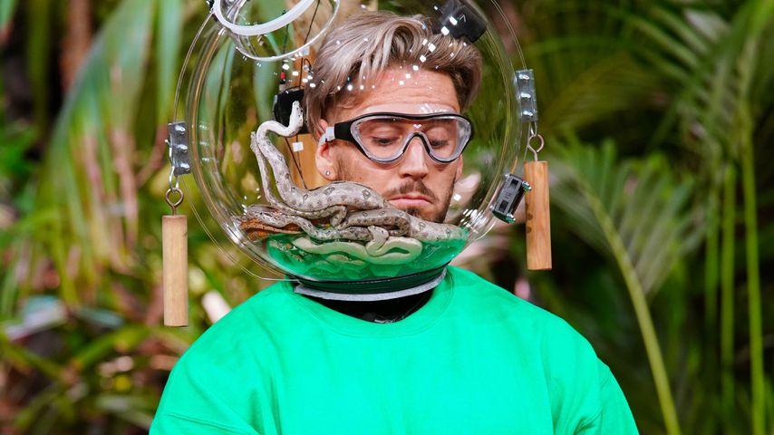 Mike Heiter an Tag drei in der Dschungelprüfung 2021