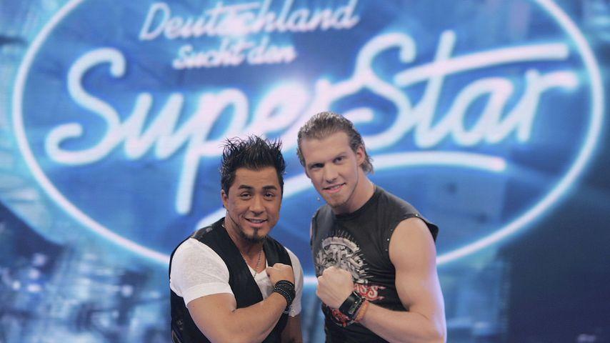 Mike Leon Grosch und Tobias Regner bei DSDS, 2006