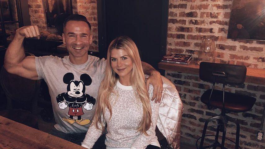 Mike Sorrentino und Lauren Pesce im November 2019