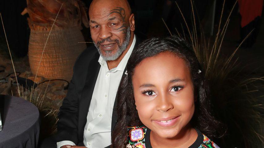 Mike Tyson mit seiner Tochter Milan, März 2019