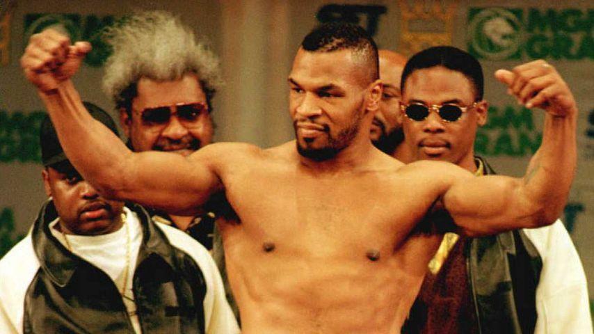 Mike Tyson in Las Vegas, März 1996
