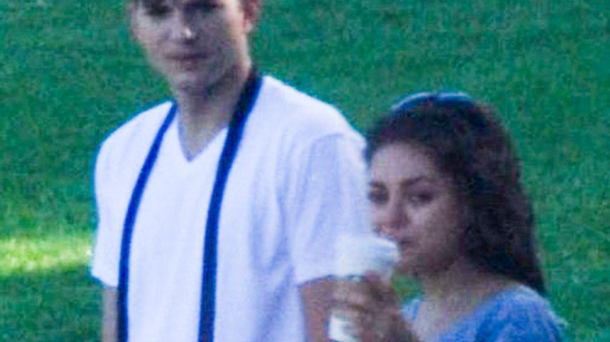 Ist Mila Kunis etwa schon schwanger von Ashton?