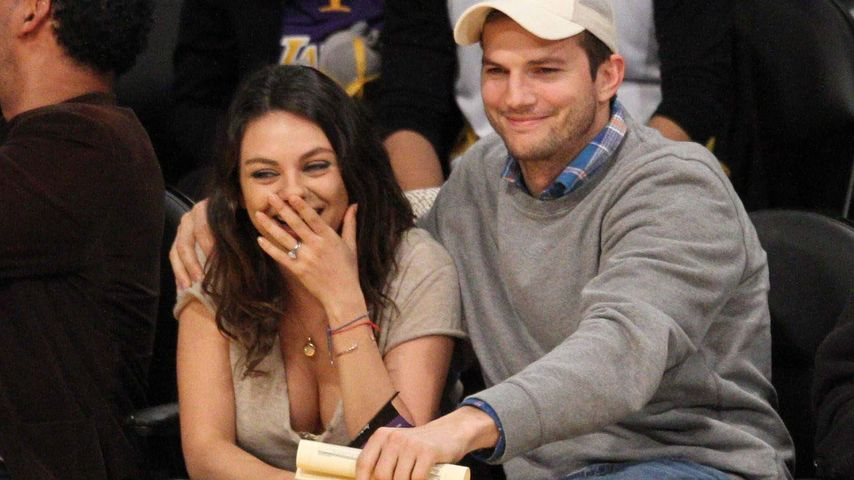 Hochzeit! Ashton Kutcher & Mila Kunis haben geheiratet