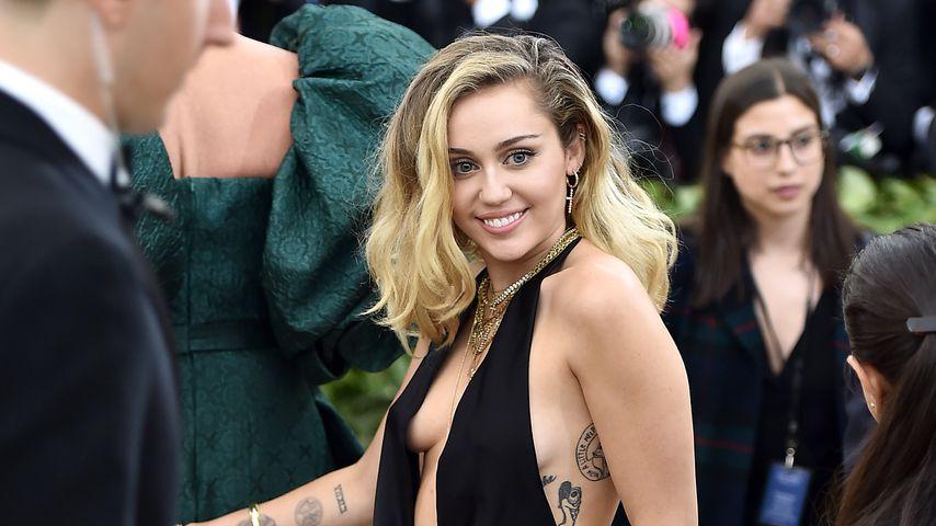 Miley Cyrus bei der Met Gala 2018