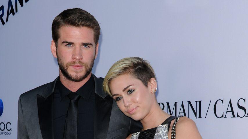"""Liam Hemsworth und Miley Cyrus bei der Premiere von """"Paranoia"""""""
