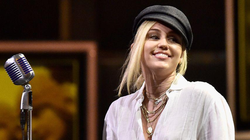 Miley Cyrus während einer Performance im Juni 2018