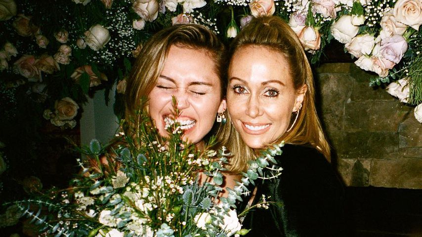 Miley und Tish Cyrus