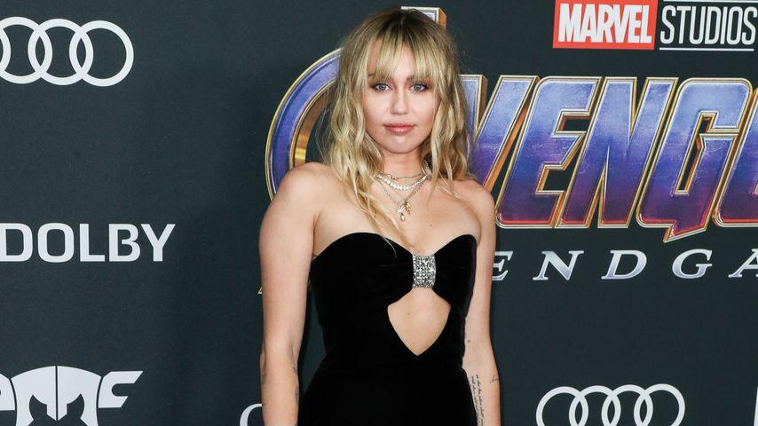 Musikerin Miley Cyrus, April 2019