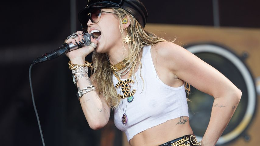 Miley Cyrus in Glastonbury