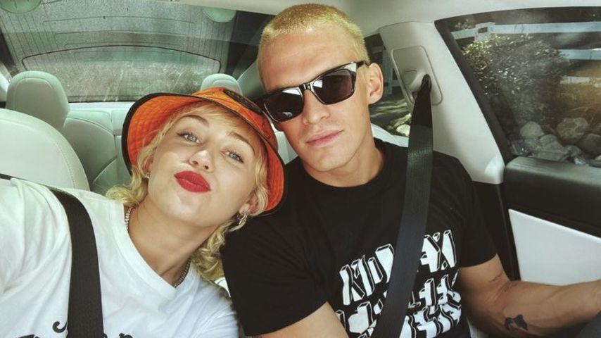 Miley Cyrus und Cody Simpson im Juli 2020