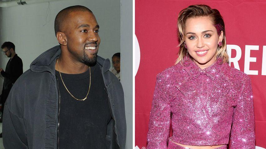 Kanye West & Miley Cyrus: Gemeinsamer Song aufgetaucht!