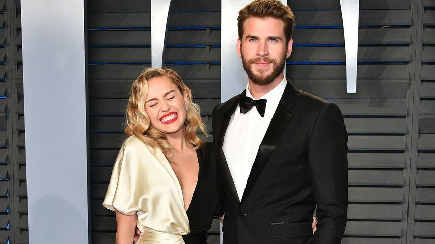 Miley Cyrus und Liam Hemsworth bei den Oscars 2018