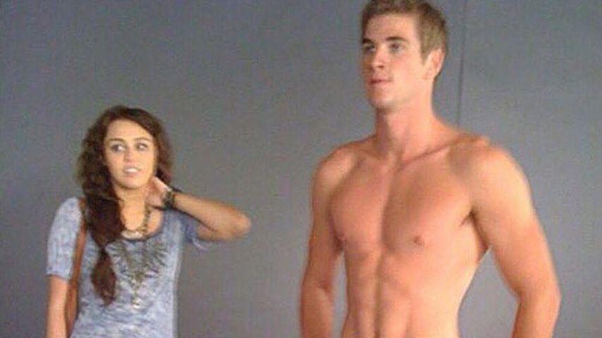 Kaum erkannt: Süßes Liebes-Throwback von Miley Cyrus & Liam