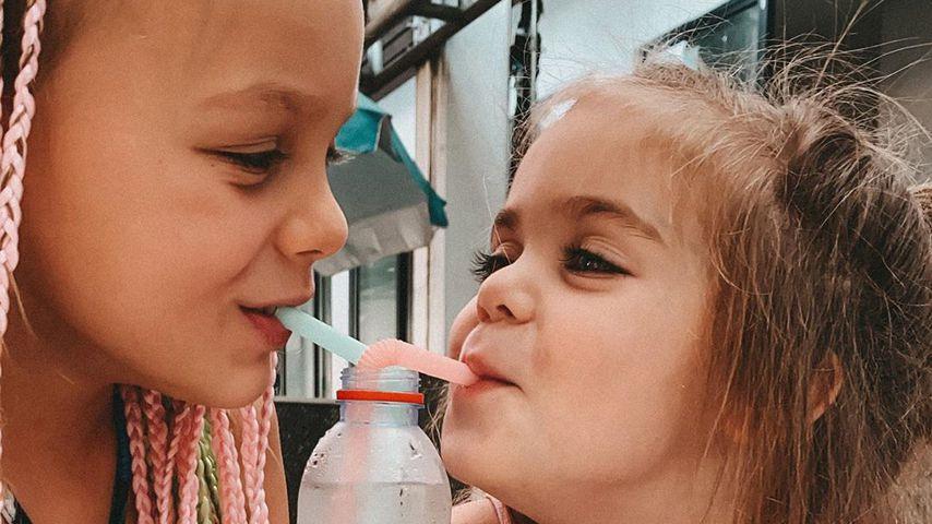 Miley und Juna, Töchter von Anne Wünsche