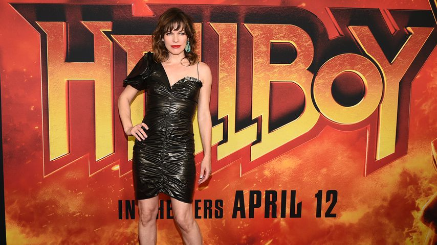 "Milla Jovovich bei der Premiere von Hellboy"" in New York, April 2019"
