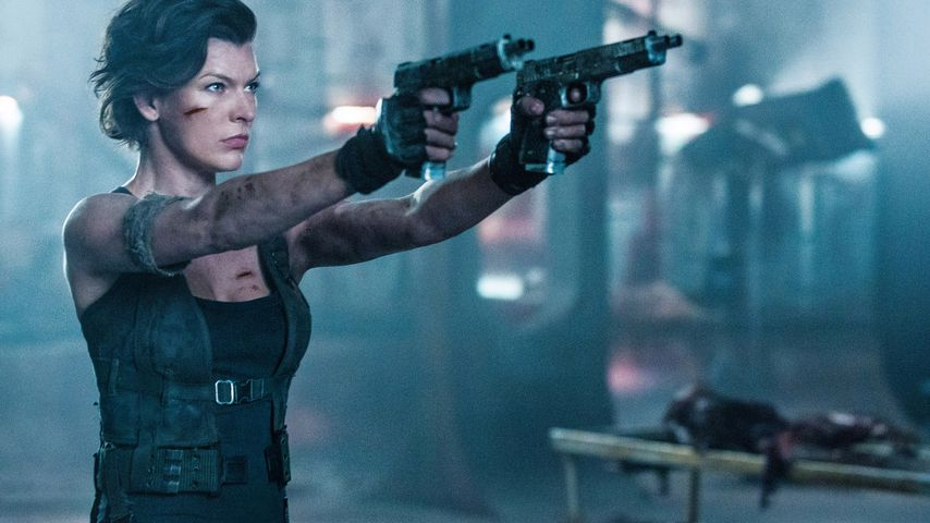 "Milla Jovovich in ihrer Rolle der Alice bei ""Resident Evil: The Final Chapter"""