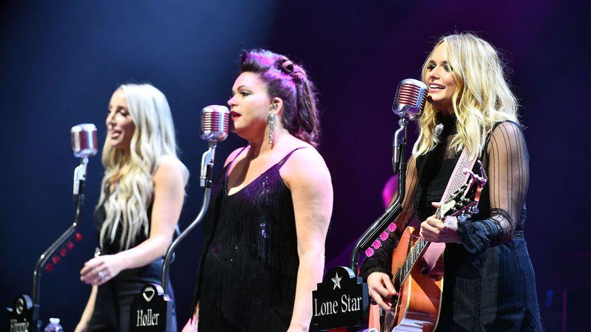 Miranda Lambert (r) mit ihrer Band Pistol Annies