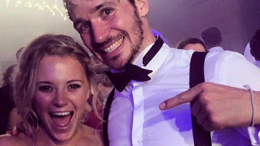 Heirat von Schweini & Ana: Dieser Star fing den Brautstrauß!