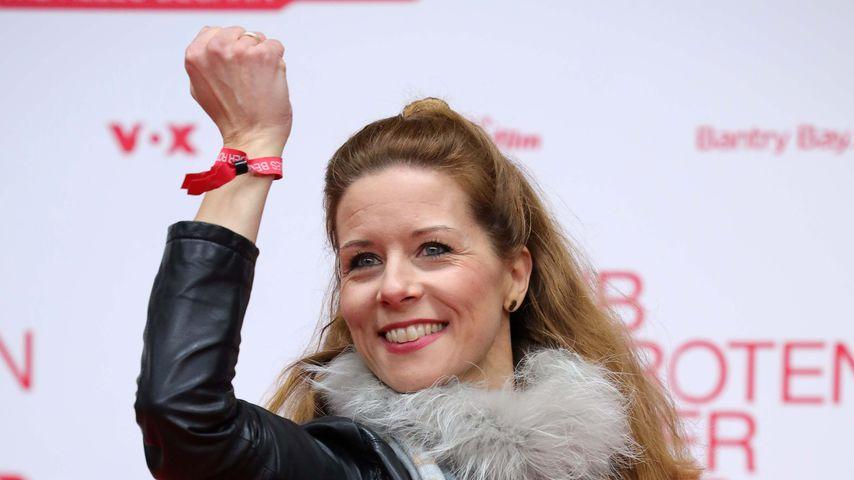 """Miriam Lange bei der """"Club der Roten Bänder - Wie alles begann""""-Premiere"""