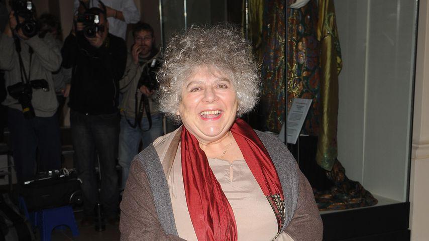 Miriam Margolyes im November 2009 in London