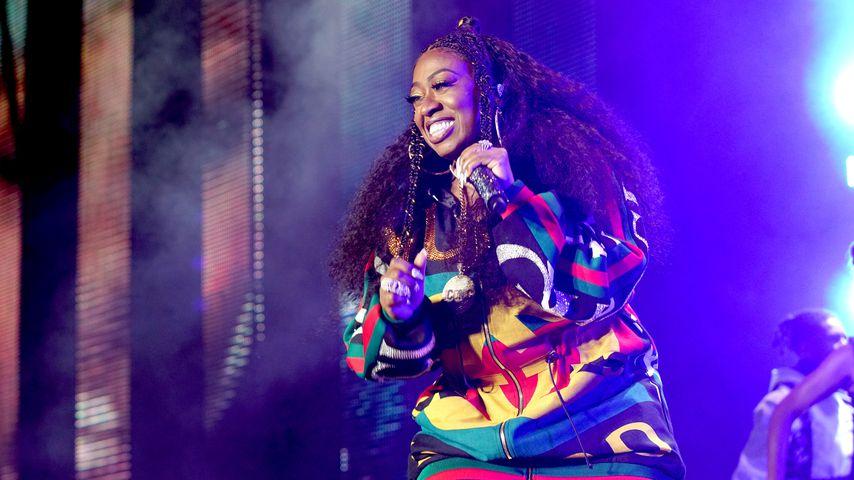 Missy Elliott bei einem Auftritt beim Essence Festival in New Orleans