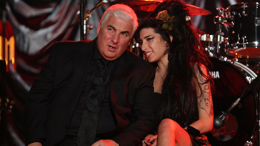 Mitch und Amy Winehouse bei den Grammy Awards 2008