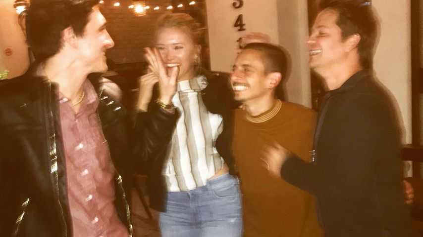 Mitchel Musso, Emily Osment, Moises Arias und Jason Earles