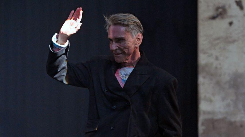 Wolfgang Joop bei der Berlin Fashion Week 2020