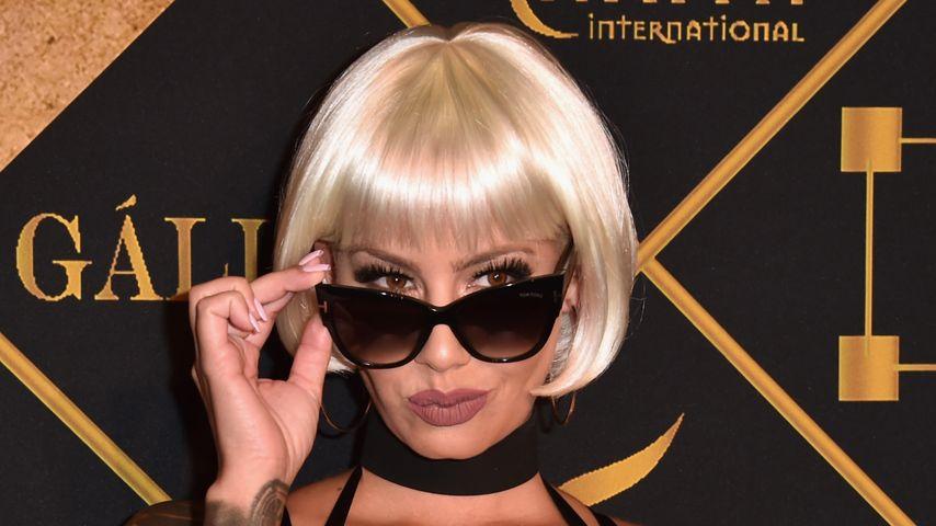 "Model Amber Rose bei der ""Maxim Hot 100 Party"" im Juli 2016"