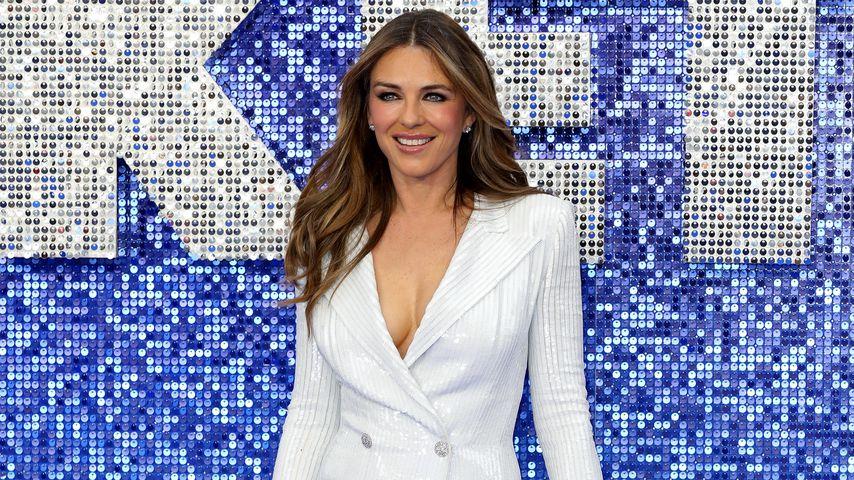 """Model Liz Hurley bei der """"Rocketman""""-Premiere in London im Mai 2019"""