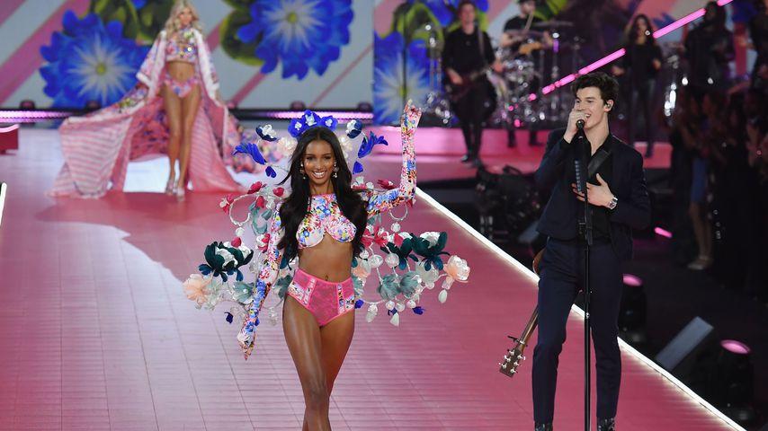 Jasmine Tookes und Shawn Mendes bei der Victoria's Secret Fashion Show 2018