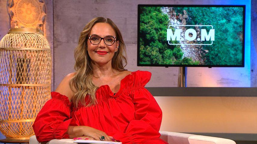 """Moderatorin Natascha Ochsenknecht bei der """"M.OM""""-Reunion"""