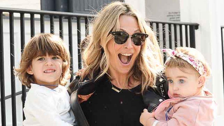 Molly Sims mit ihren Kindern Brooks und Scarlett
