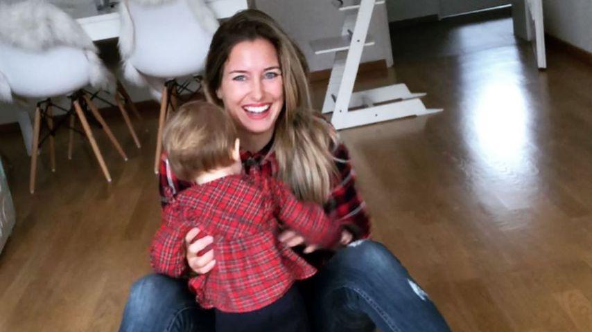TV-Bekanntheit Mona Stöckli und ihre Tochter Clea