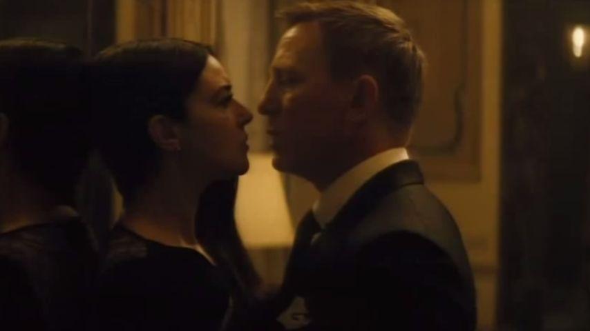 Daniel Craig und Monica Belucci